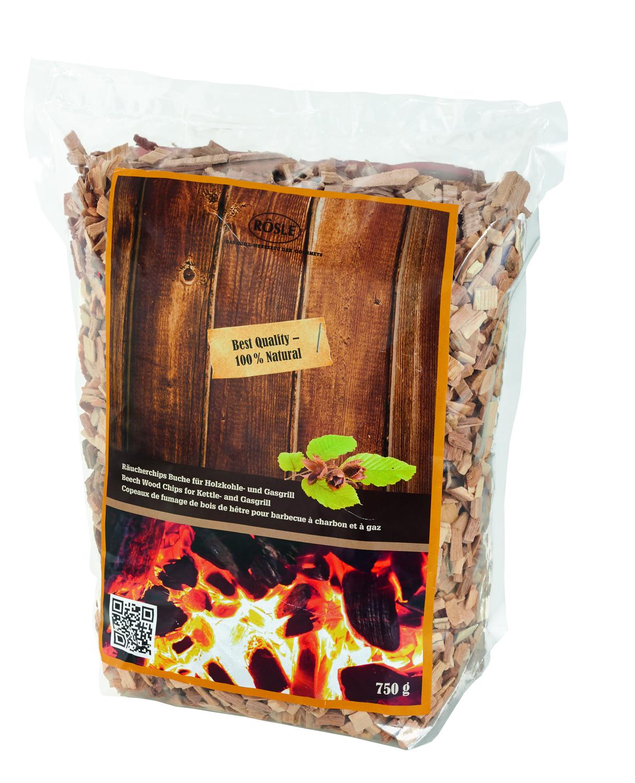 Dřevěné udící lupínky Bukové 750 g, RÖSLE